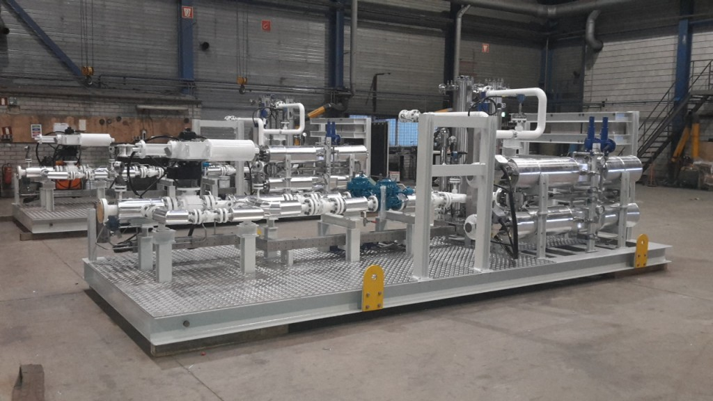 Fuel Gas Skid For Conditioning And Filtration Fb Group