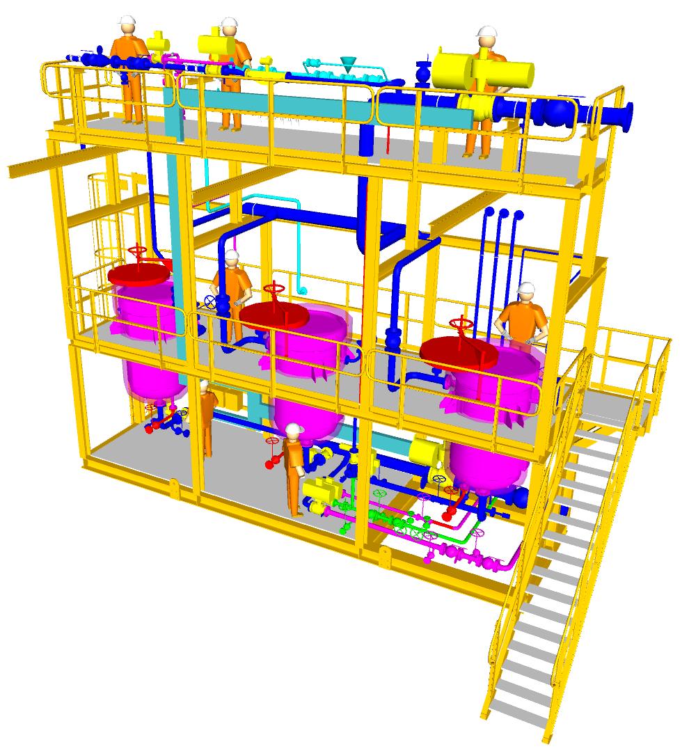 Filtration Package 3D model