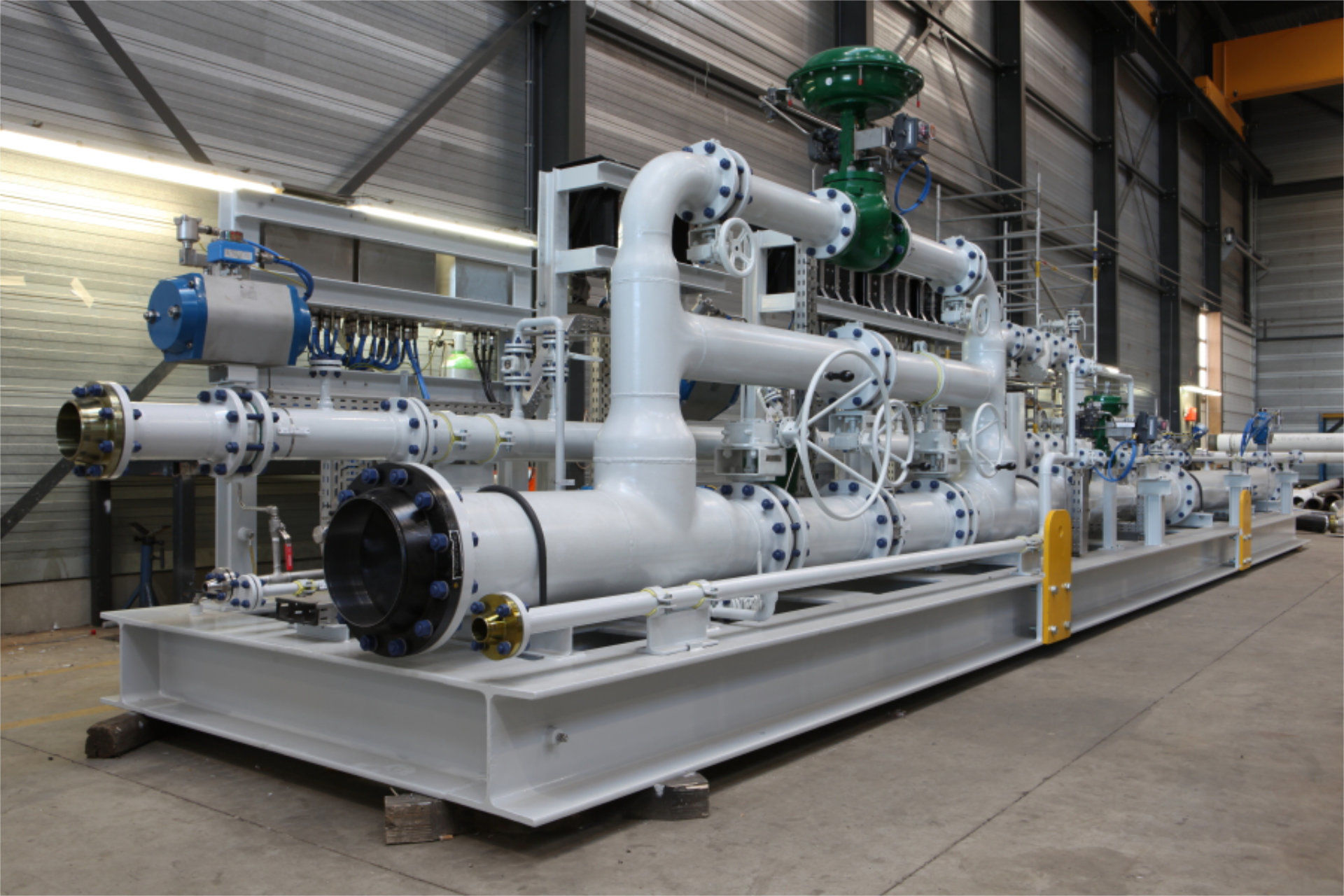 Gas Regulating Skid